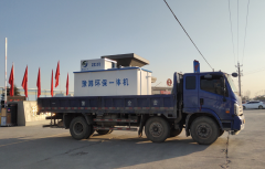 梁寨卫生院10吨污水处理一体机设备