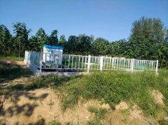 农村污水处理一体机工程施工中