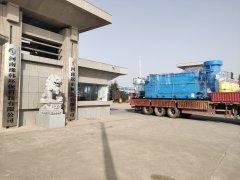 河南义马中车集团污水处理一体机发货